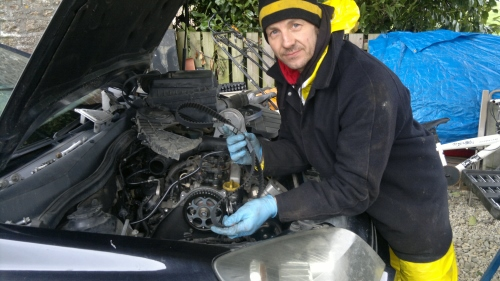 Mobile Mechanic: Opel Astra - Timing Belt Replacement