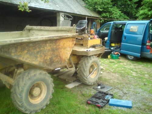 Mobile Mechanic: Thwaites Dumper Truck