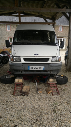 Mecanique Mobile: Ford Transit - Starter Motor Problems