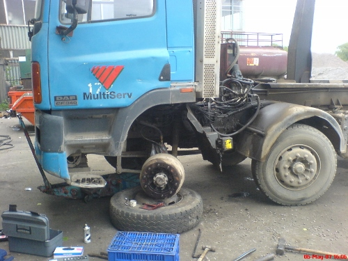 Mobile Mechanic: Daf Hook Lift